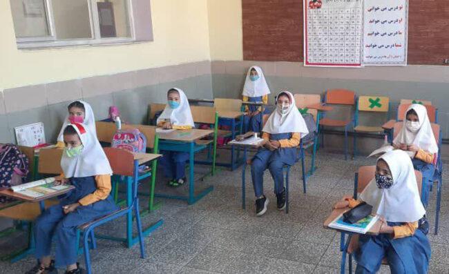 ۱۷ درصد دانش آموزان مازندران در مدارس حضور می یابند