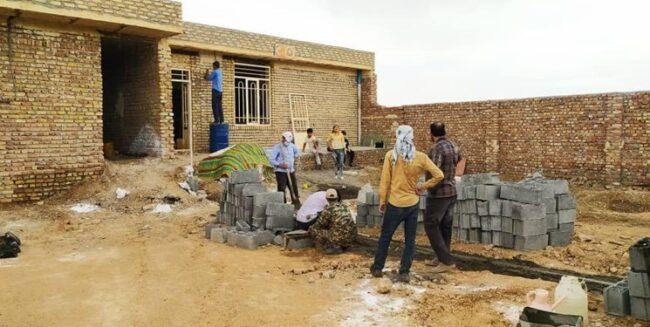 جاماندگان اربعین خانه میسازند