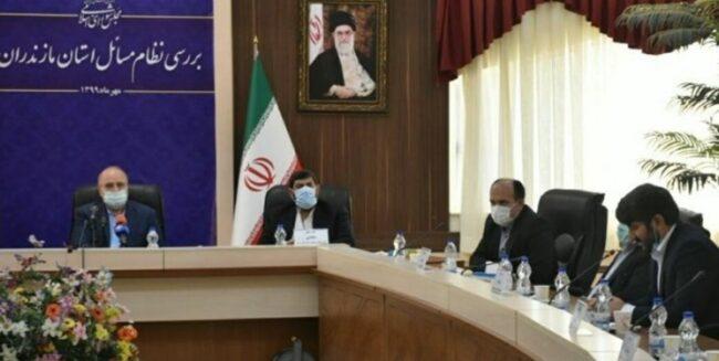جلسه قالیباف در مازندران