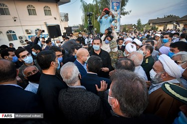 سفر محمد باقر قالیباف رئیس مجلس شورای اسلامی به مازندران