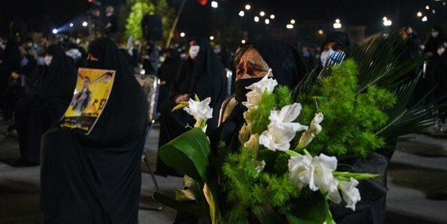 وداع مردم ساری با شهید محمود رادمهر