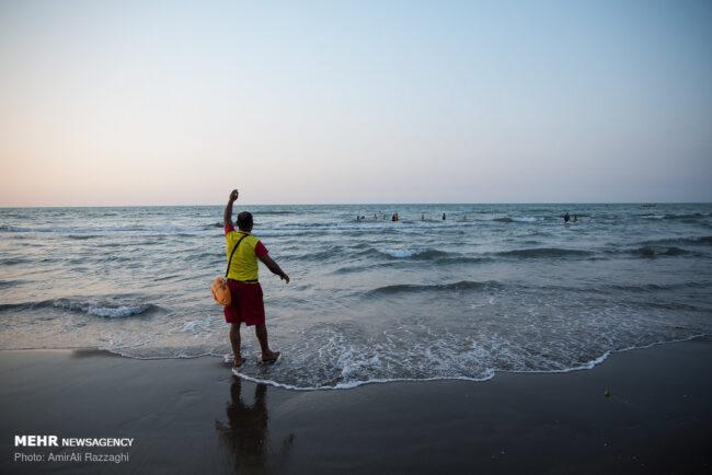دریای مازندران امسال ۴۵ غریق داشت