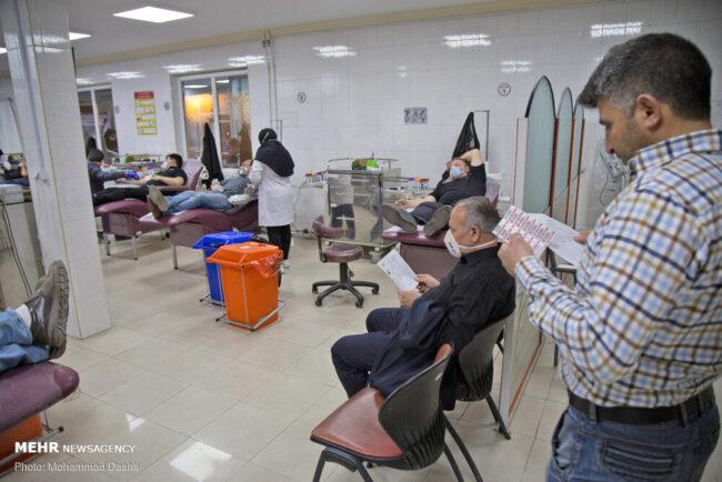 وضعیت ذخایر خونی در کشور مطلوب است