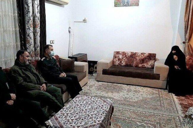 ابلاغ بازگشت پیکر مطهر شهید مدافع حرم «محمود رادمهر» به خانواده