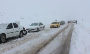 آخرین وضعیت از جاده و محورهای اصلی مازندران/ بارش 50
