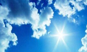 هشدار افزایش محسوس دما در آسمان مازندران