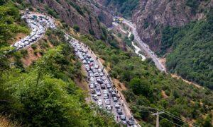 کنترل کرونایی خودروها در ۵۷ نقطه از محورهای مازندران