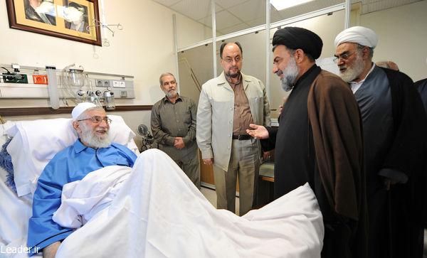 عیادت حجت الاسلام والمسلمين سید احمد میرعمادی از رهبر معظم انقلاب