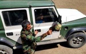 نبرد سرجنگلبان منابع طبیعی چهاردانگه با خرس وحشی