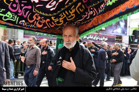گزارش تصویری عزاداری عاشورای حسینی و خیمه سوزان در ساری