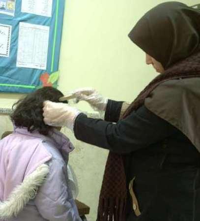 آغاز طرح ضربتی غربالگری پدیکولوزیس(شپش سر) در مدارس مازندران