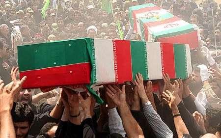 چهار شهید یمنی در آمل دفن می شوند