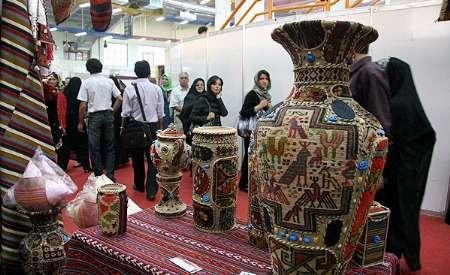 نمایشگاه ملی صنایع دستی در ساری گشایش یافت