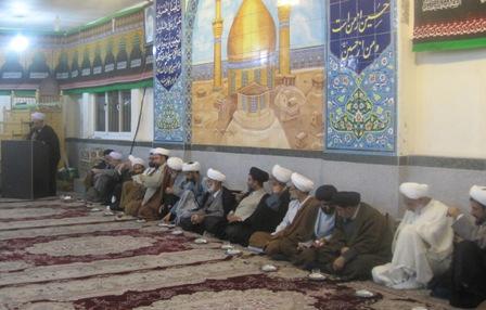 برگزاری جلسه جامعه روحانیت بخش چهاردانگه + تصاویر