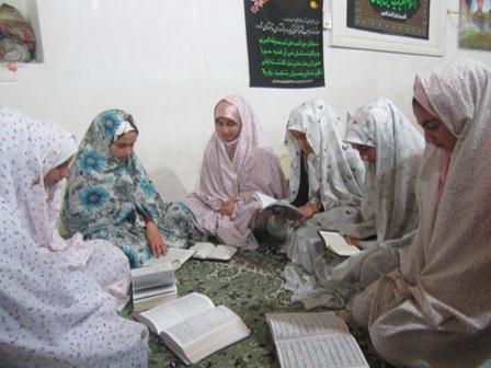 گزارش تصویری از مراسم معنوی اعتکاف در شهر کیاسر و روستای چالو
