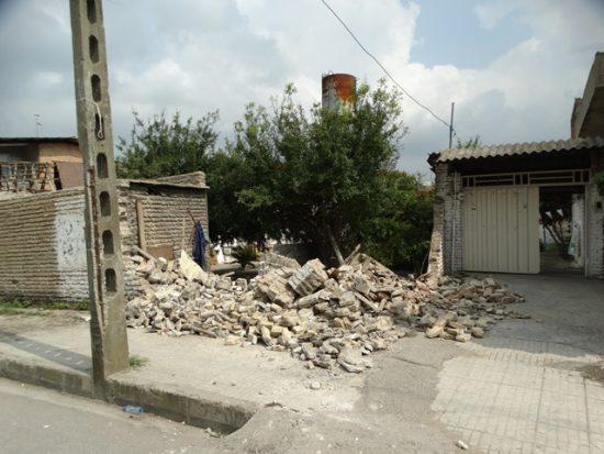 آغاز فاز دوم پروژه تعریض خیابان امامزاده عباس در ساری