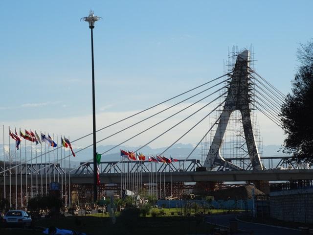 پل کابلی  ساری در آستانه افتتاح