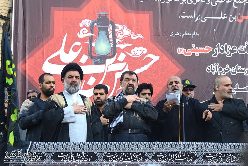 عزاداری در شهرستان خرم آباد با حضور حجت الاسلام میرعمادی(2)