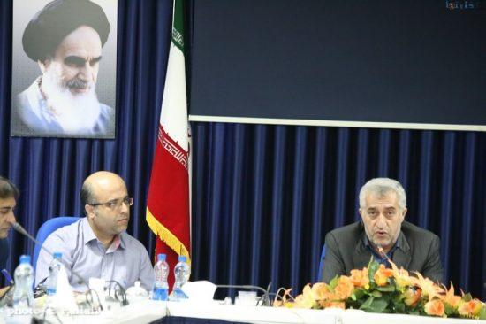 نشست خبری حسینعلی طالبی مدیر شرکت ملی نفت منطقه ساری