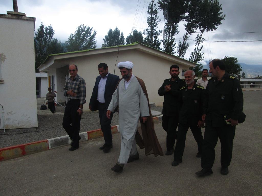 گزارش تصویری بازدیدحجت الاسلام نوذری نماینده ولی فقیه در سپاه ساری از بخش چهاردانگه