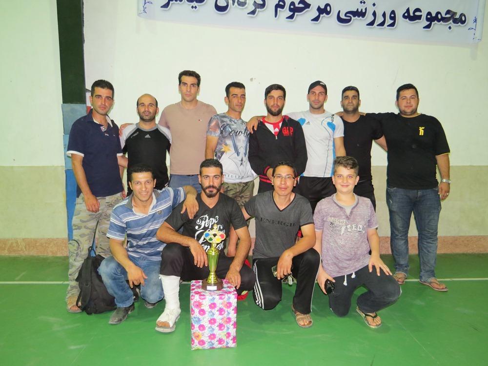 گزارش تصویری فینال مسابقات جام رمضان در سالن مرحوم کردان کیاسر