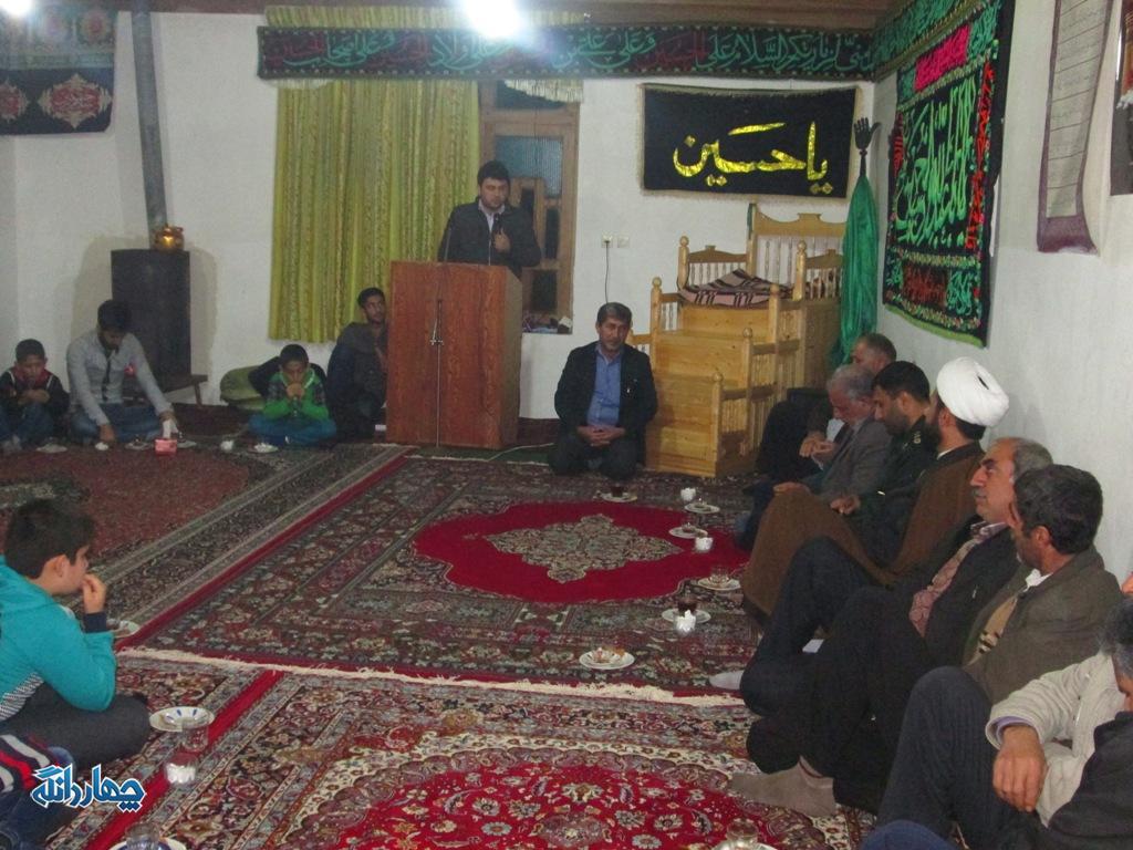 نشست بصیرتی بسیجیان چهاردانگه در روستای کلاکرده