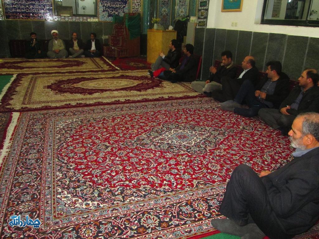 برگزاری نشست بصیرتی در حلقه صالحین روستای پاجا