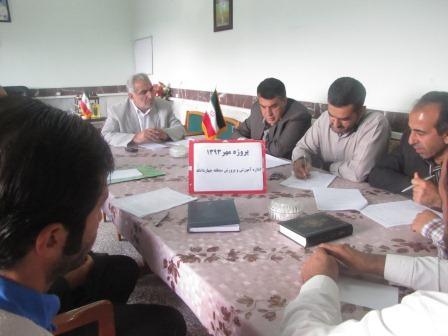 پروژه مهر 93 درمنطقه چهاردانگه کلید خورد