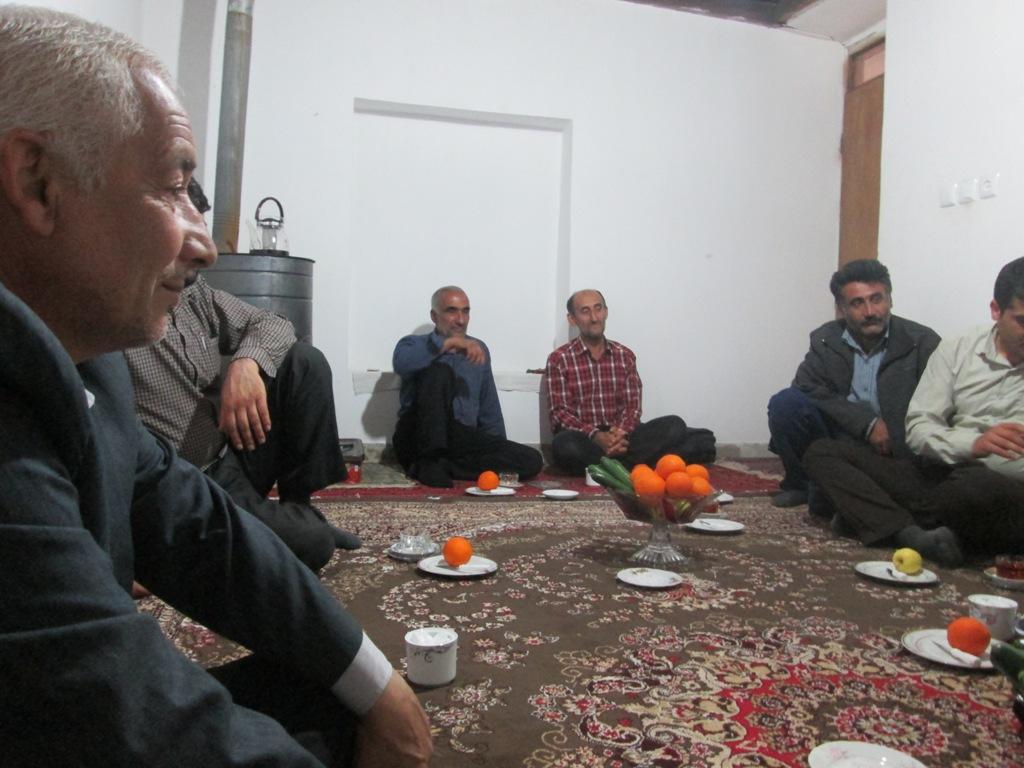 دیدار با خانواده شهید احمدی  چورت و شهید بابایی ولاغوز