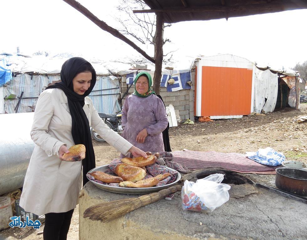 حضور گردشگران نوروزی در بخش چهاردانگه + تصاویر