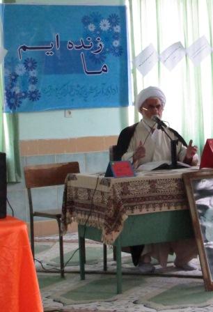 برگزاری همایش حجاب و عفاف دختران مدارس شهر کیاسر«نهضت ما زندایم»