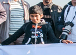 كسب مقام دوم نوجوان چهاردانگهاي در جشنواره بين المللي عکس امارات