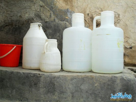 رنج مردم روستای اراء از کمبود آب آشامیدنی