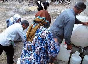 روستای پروریج آباد، کویری در دل آب
