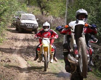 تور نوروزی موتور کراس و آفرود سواری در جنگل های جنوب ساری+تصاویر