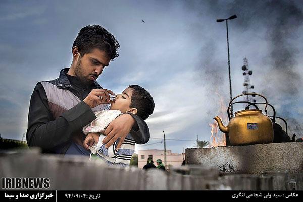 گزارش تصویری عکاس چهاردانگه ای از راهپیمایی اربعین ۹۴