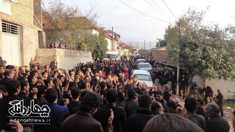گزارش تصویری عزاداری روز عاشورای روستای ازنی
