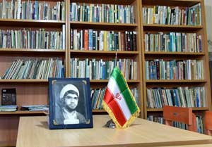 افتتاح کتابخانه نخستین شهید روحانی دفاع مقدس کشور در روستای ازنی