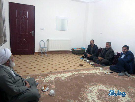 دیدار سرپرست جدید بخشداری چهاردانگه با حجت الاسلام تیموری