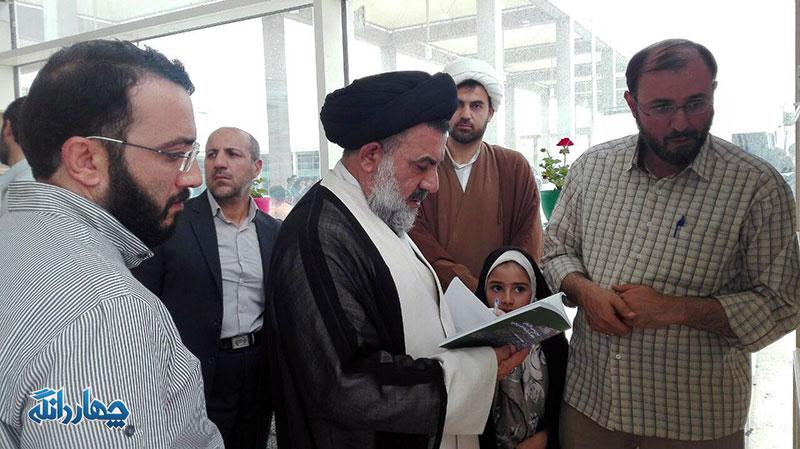 بازدید آیت الله میرعمادی از نمایشگاه بین المللی کتاب تهران+ تصاویر