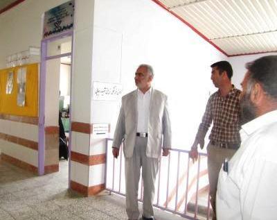 بازدید آقاي مسعوديان زاده از فعالیت تابستانه کانون شهید رجایی کیاسر