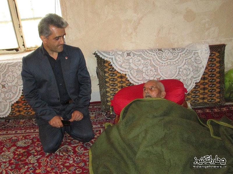 گزارش تصویری بازدید رییس بهزیستی شهرستان ساری از چهاردانگه