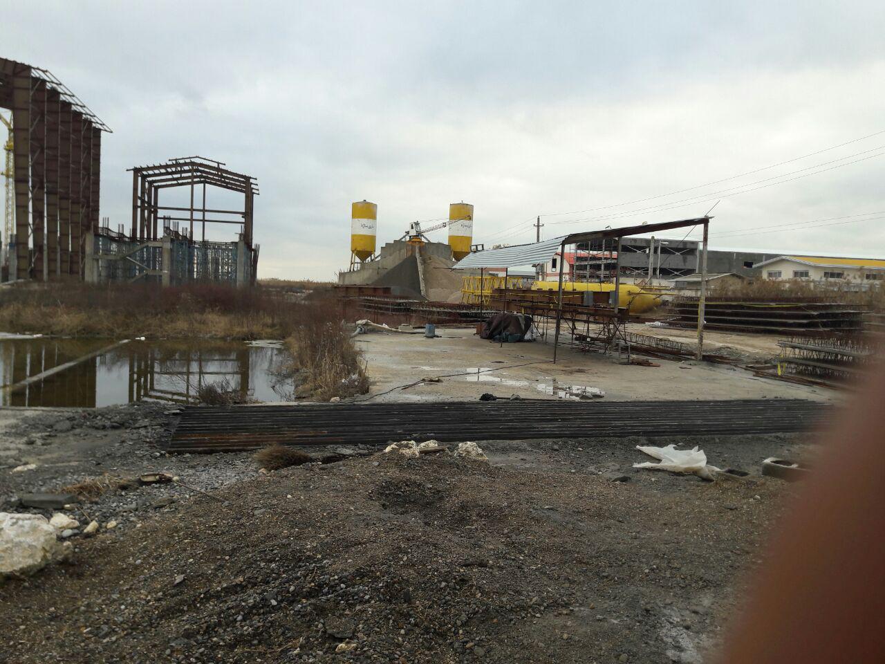 بازدید بخشدار و اعضای شورای بخش چهاردانگه از محل ساخت نیروگاه زباله سوز ساری+تصاویر