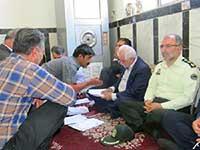 بررسی مشکلات روستای قلعه سر با حضور رئيس سازمان جهاد كشاورزي