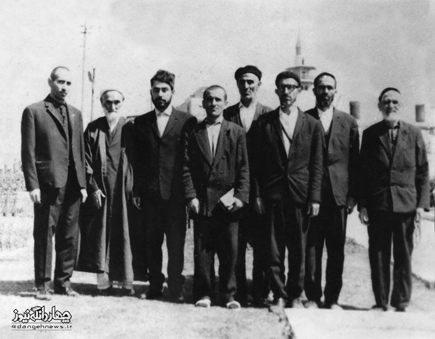 عکس بزرگان چهاردانگه در مکه معظمه - سال 1338