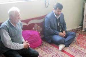مراسم دیدار از خانواده معظم شهدا در کیاسر برگزار شد