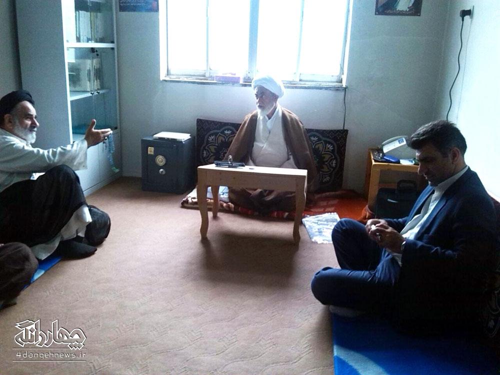 حضور نماينده ولي فقيه در جهاد کشاورزي استان و شهرستان در دفتر حجت الاسلام تیموری