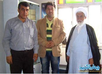 دیدار مدیران چهاردانگه نیوز با امام جمعه و مسئولین چهاردانگه + تصاویر