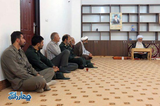 دیدار مسئولان بخش با امام جمعه به مناسبت هفته دولت + تصاویر