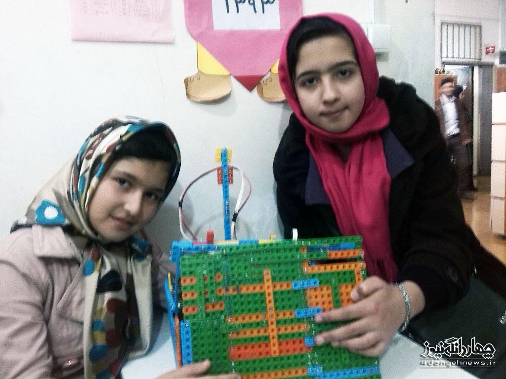 حضور دو دانش آموز کیاسری در مسابقات کشوری نادکاپ
